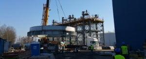 Realizacja na terenie zakładu TAURON w Tychach.