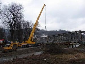 Most już prawie skończony