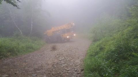 Gęsta mgła nie zatrzyma naszych dźwigów
