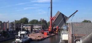 Katastrofa - dźwigi holandia