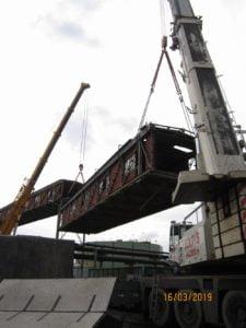 Usługa dźwigowa demontażu elektrowni w Będzinie