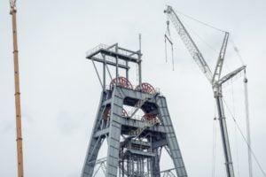 Usługi dźwigowe Makoszów - likwidacja kopalni