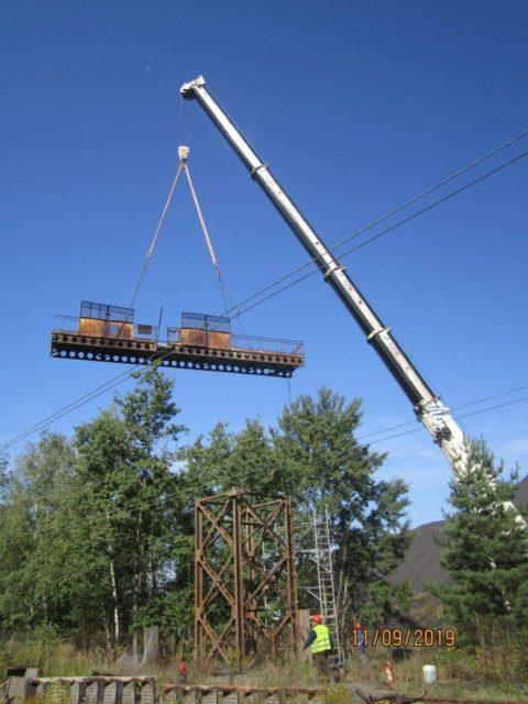 Firma Sołtys prowadzi usługi dźwigowe w Suszcu.