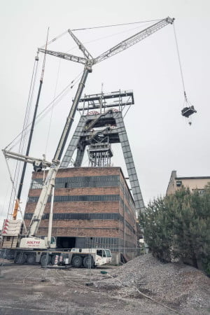 Usługi dźwigowe realizowane w mieście Zabrze.