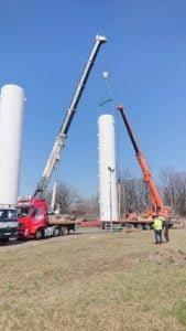 Usługi dźwigowe realizowane w mieście Chorzów.