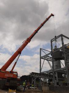 Usługi dźwigowe realizowane w Łaziskach Górnych
