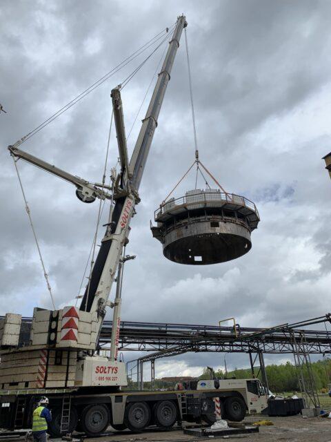 Usługi dźwigowe realizowane w mieście Alwernia przez firmę dźwigi Sołtys.